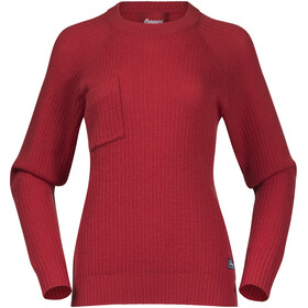 Bergans Stavali Jumper Women red sand